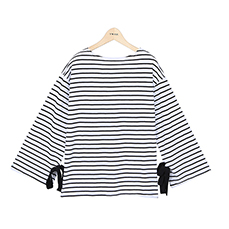 ribbon stripe TEE