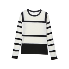 line color knit