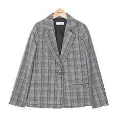 Button check jacket