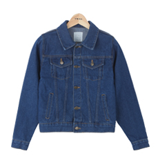 Basic standard denim jacket