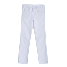 Natural cutting basic pants